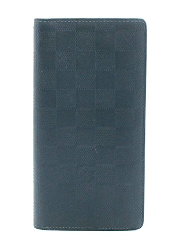 [ルイ ヴィトン] LOUIS VUITTON ダミエ アンフィニ ポルトフォイユ ブラザ 2つ折長財布 コスモス N63119