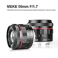 MEIKE MK-50MM F/1.7 プライムレンズ X-T1 X-T2 X-T100 X-T20などの富士フイルムカメラに対応