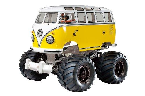 RC限定シリーズ 1/10 電動RCカー VW タイプ2 (T1) ウイリーカスタム 84373
