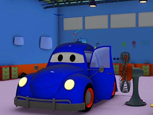 空腹でドライブ&サッカーの試合そして, レッカー車のトム, (子供向け)車&トラックの 建設アニメ