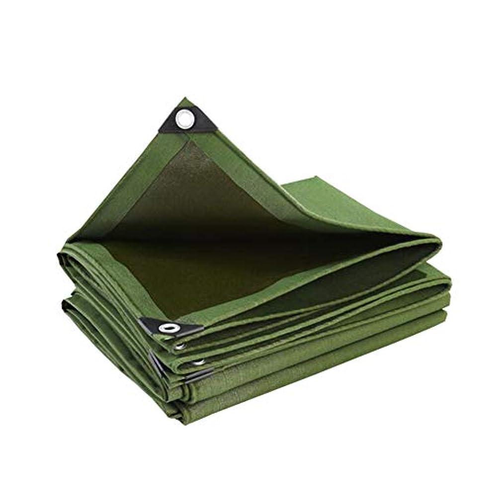 レジ歌詞アソシエイトZX タープ 2x2mプレミアム厚い防雨ポリエステルグリーンターポリン テント アウトドア (Size : 3*6M)