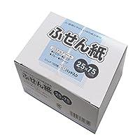 丸石製紙 ふせん紙 業務用エコノミーふせん紙 25×75 100枚 20冊 パステルアソート