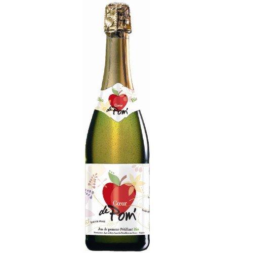 クール・ドゥ・ポム ビオ ノンアルコールシードル 750ml オーガニックりんごのスパークリング(フランス・ブルターニュ産)