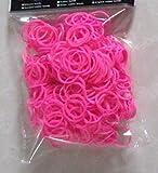 Prune(プリュネ) カラフルなゴム  レインボールーム 輪ゴム 約600本ピンク