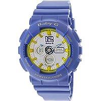 Casio Baby-G Analogue/Digital Yellow Female Sports Watch BA-120-9B - BA-120-9BDR
