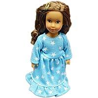 ブルースターNightgown for American Girl人形Mini人形