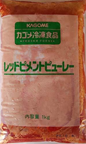レッドピメントピューレ 1kg 業務用 冷凍 赤ピーマン パプリカ ペースト ピューレ