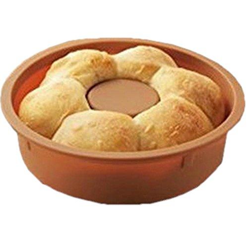 ちぎりパン パン型 電子レンジ レンジでパン 調理器具 簡単調理 ベーカリー ホットケーキミックス