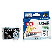 ==まとめ== ・エプソン・EPSON・インクカートリッジ・ライトシアン・小容量タイプ・ICLC51・1個・-×5セット-