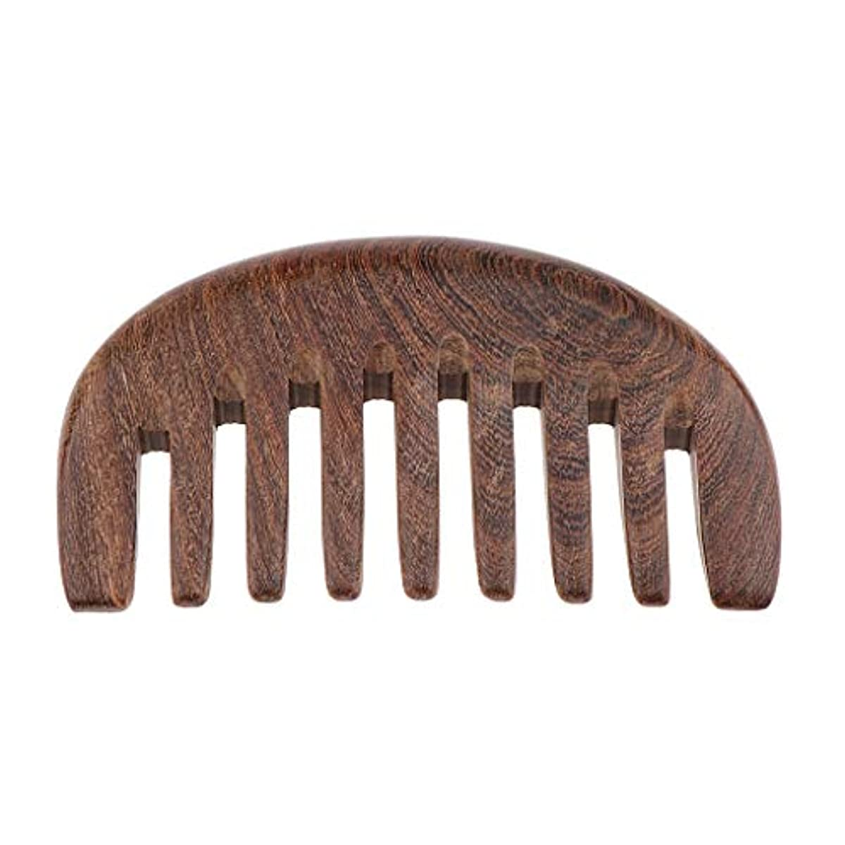 戦略侮辱不毛木製ヘアコーム 手作り 櫛 ナチュラル木製 マッサージコーム 3色選べ - クロロフォラ