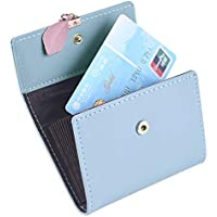 Leather Credit Card Holder for Women, RFID Blockinig Credit Card Wallets