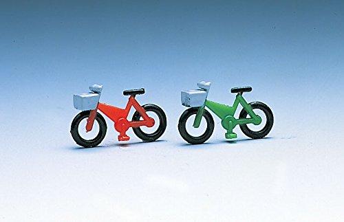 Nゲージストラクチャー 自転車2 (8台セット) 3582
