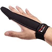 【オルルド釣具】フィンガープロテクター < 全力キャスト時に指をガード/ラインを掴む感覚を損なわずスムーズなキャスティングが可能 / 投げ釣り・キャスティングに最適> 1本指 指サック 手袋 qb500075