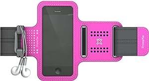 XtremeMac iPhone5S/5C/5/4S/4/3G/3GS/iPod touch対応 軽量スポーツアームバンド スポーツラップシリーズ ピンク IPP-SPN-33