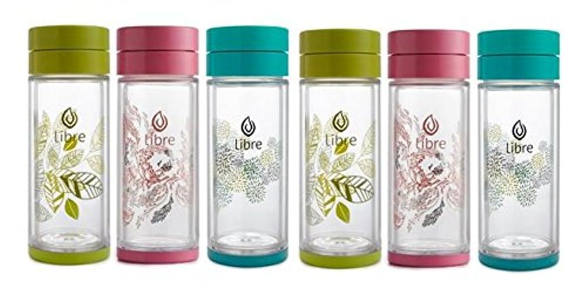 オーバーヘッド生きる前兆Libre 15% OFF Thermal Tea Glass 14 ounce / ???15?????OFF??????????14???