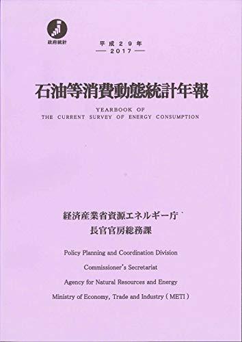 [画像:平成29年 石油等消費動態統計年報]