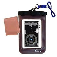 軽量水中カメラバッグSuitable for the Samsung pl90防水保護