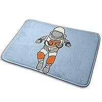 玄関マット 宇宙飛行士 ドアマット バスマット 泥落としマット 屋内 室内用 吸水 速乾 耐磨耗性 抗菌防臭 滑り止め おしゃれ 40x60cm