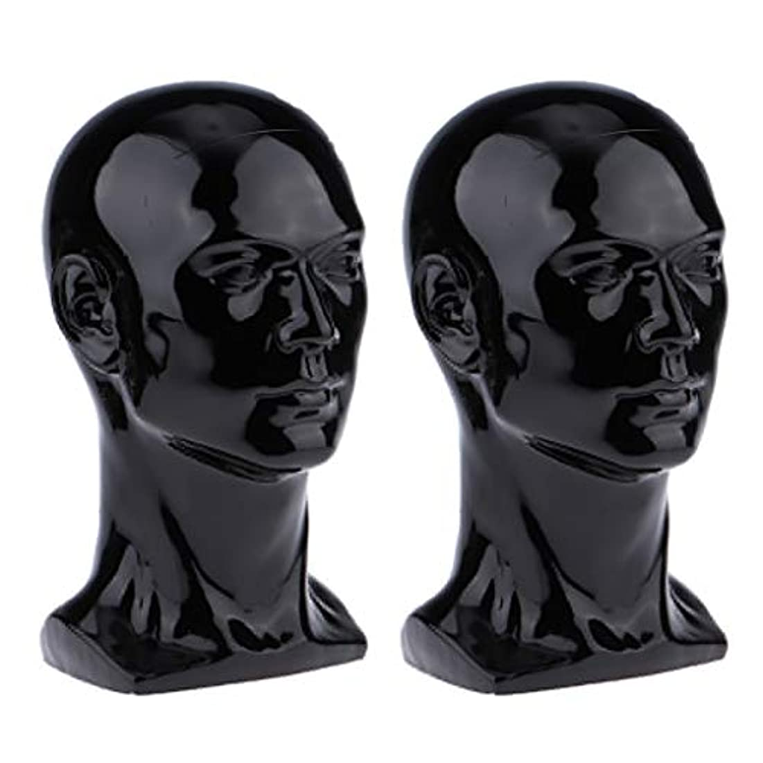 世界に死んだ残基問い合わせるT TOOYFUL マネキンヘッド ウィッグスタンド練習 頭部 女性ウィッグマネキン ディスプレイ 帽子スタンド 2個入り