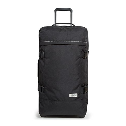 EASTPAK TRANVERZ WHEELED M (BLACK STITCHED)