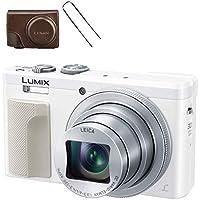 パナソニック コンパクトデジタルカメラ ルミックス TZ85 光学30倍 ホワイト DMC-TZ85-W + 専用ソフトケース DMW-CT85-T セット