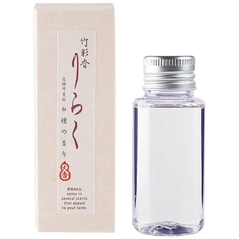 天従者論理竹彩香りらく 交換用香料白檀 50ml