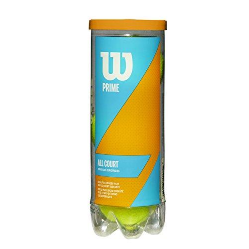 【Amazon限定モデル】Wilson(ウイルソン) 硬式 テニスボール プレッシャーボール プライム オールコート 公認球
