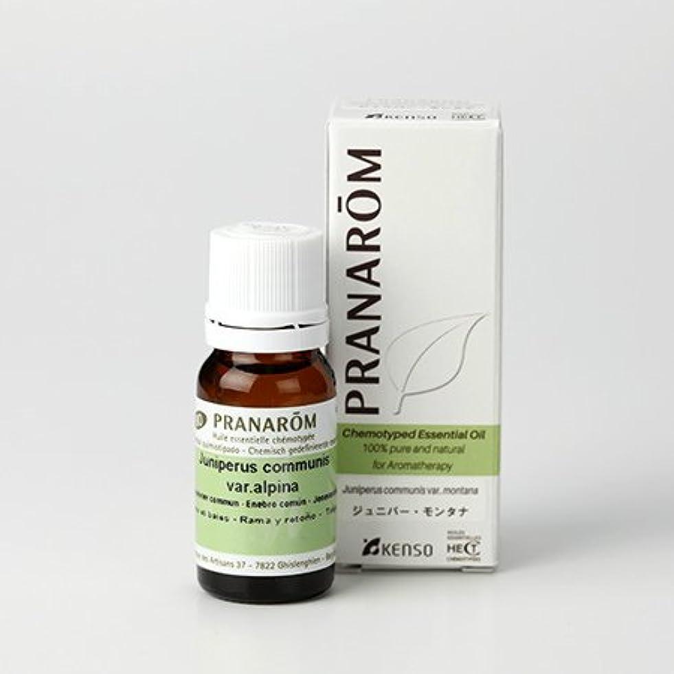 誰でもしなやか光沢のあるプラナロム ジュニパーモンタナ 10ml (PRANAROM ケモタイプ精油)