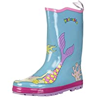 Kidorable Blue Mermaid Natural Rubber Rain Boots w/Fun