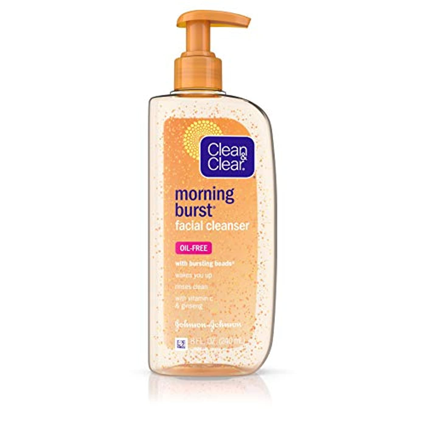 訴える気づく路地Clean & Clear Morning Burst Cleanser - 8 OZ (並行輸入品)