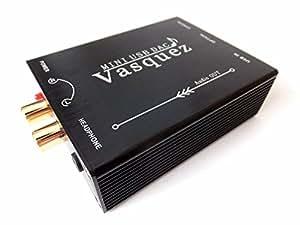 MUSE Audio USB-DAC ヘッドフォンアンプ PCM2704 USBケーブル付属