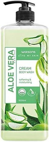 WATSONS Aloe Vera Scented Cream Body Wash 1L 1 pack