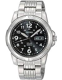 [セイコー]SEIKO 腕時計 Solar Power 海外モデル ブラック SNE095P1 メンズ [並行輸入品]