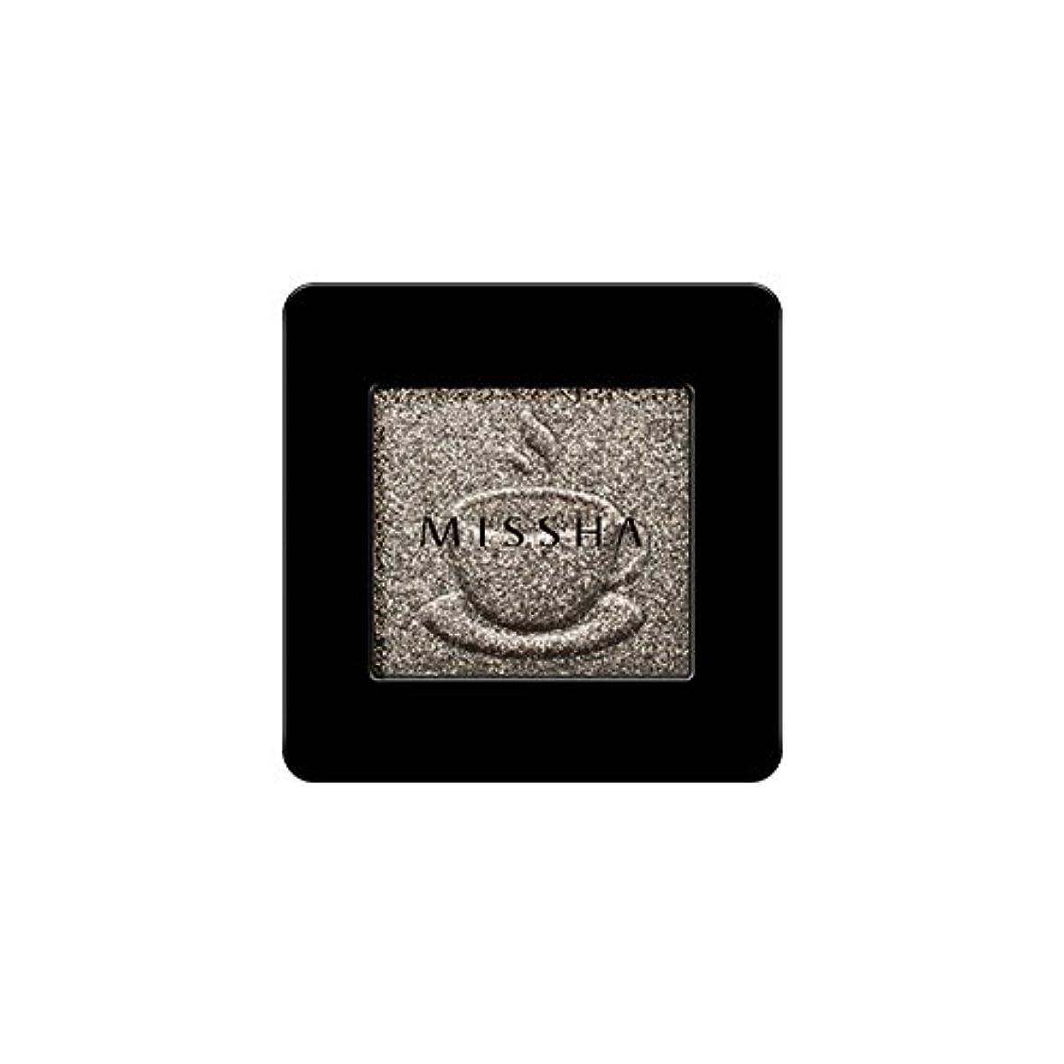 再び魅惑するブラウズ[2016 F/W New Color] MISSHA Modern Shadow [Glitter]/ミシャ モダン シャドウ [グリッター] (#GKH03 Mocha Chocochip)