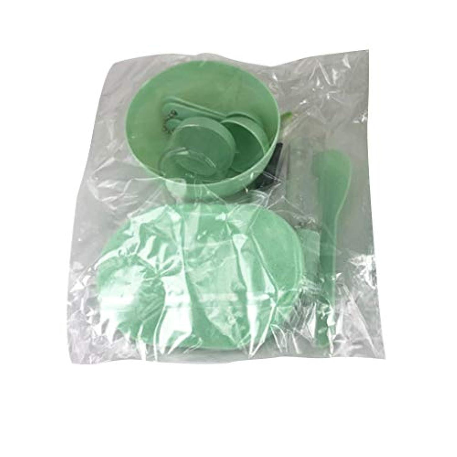 どうやってアラブ北方Nerhaily 美容パック用道具 マスクツール プラスチックボウル メイクアップツール フェイシャルマスクツール 9点セット DIY用品 スライム用ボウル サロン用具 全3色あり