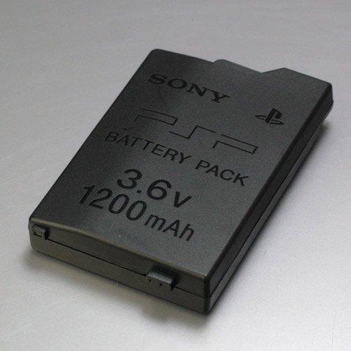PSP-2000 3000用 バッテリーパック(1200mAh) Sony Battery Pack (1256-1)