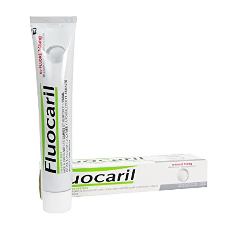 哲学または薄いですFluocaril Bi-fluor 145mg Whitening Toothpaste 75ml [並行輸入品]