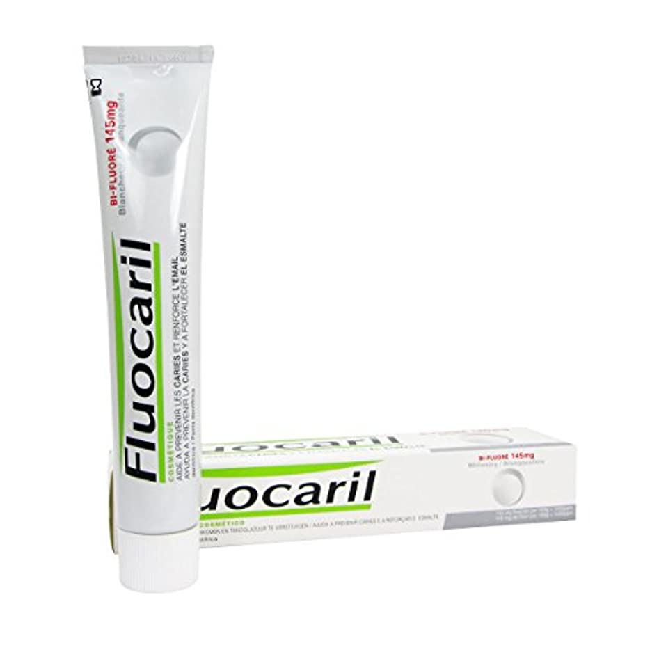貞システム憂鬱なFluocaril Bi-fluor 145mg Whitening Toothpaste 75ml [並行輸入品]