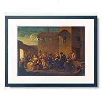 Johannes Lingelbach 「Karneval in Venedig.」 額装アート作品