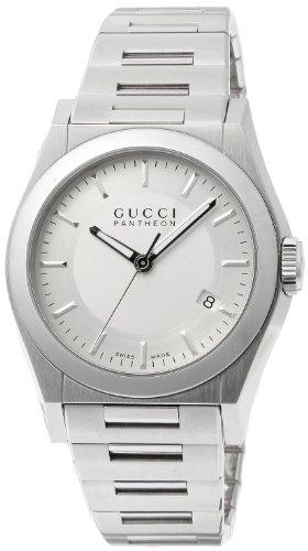 [グッチ]GUCCI 腕時計 パンテオン シルバー文字盤 デイト YA115425 メンズ 【並行輸入品】