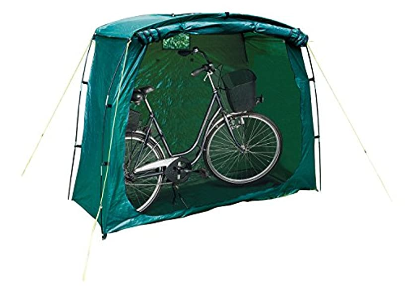 余裕がある破壊的童謡Happy People 79260 Tente de protection/garage pour vélo Vert
