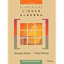 Elementary Linear Algebra Applications Version 11E