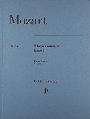 モーツァルト: ピアノ・ソナタ集 第1巻/ヘンレ社/原典版