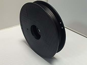 ノーブランド品 3Dプリンター用 PLAカーボンフィラメント Φ1.75 内容量450g