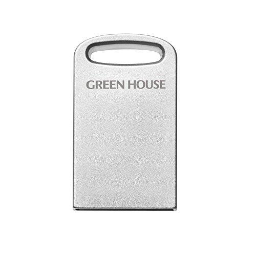 グリーンハウス 超小型 USBフラッシュメモリー 64GB USB3.1 Gen1 (USB3.0/2.0) 対応 最大転送速度 5Gbps GH-UF3MB64G-SV