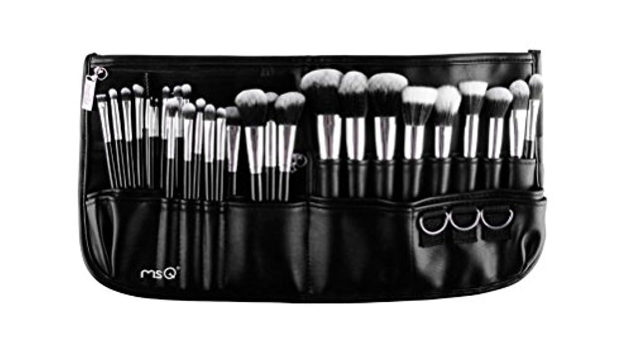 クレア船酔いほとんどない(メイクアップエーシーシー)MakeupAcc プロ仕様メイクアップブラシ29本セット 高級メイクブラシ 専門の全セットメイクブラシ ウエストポーチ付き 専門の化粧師 化粧筆 (02) [並行輸入品]