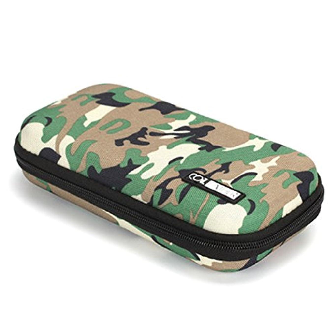 遮るマージ担保Shioyaw 電子たばこ バッグ VAPE ケース 全部収納 お洒落 高級 プレゼント 防衝撃 紛失防止(グリーン)