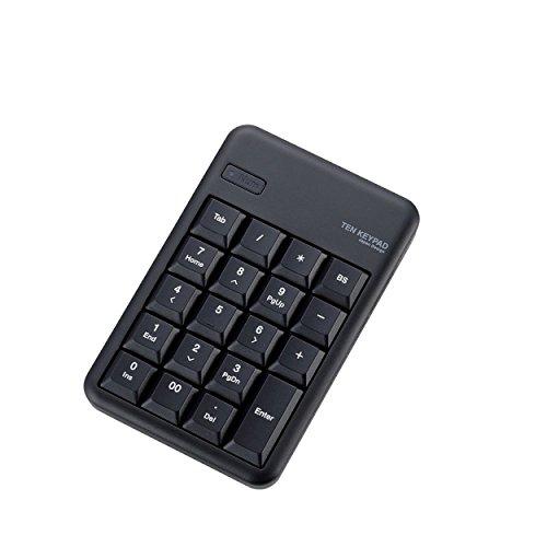 エレコム 無線 Bluetooth 対応 ワイヤレステンキーパッド ブラック TK-TBM016BK