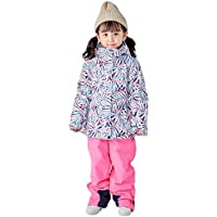 Snow Suits for Children, New Ski Suit Boys and Girls Winter Outdoor Warm Snowboard