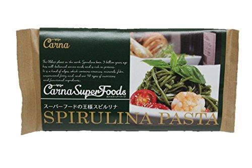 Carna スーパーフードの王様スピルリナパスタ 350g